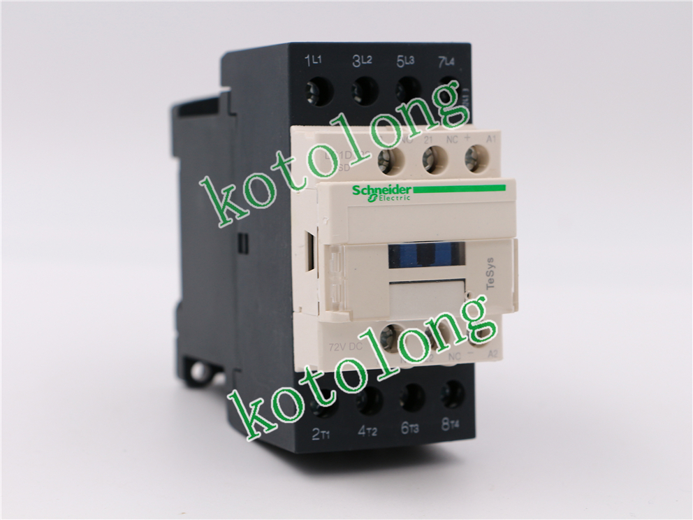 DC Contactor LC1DT32 LC1-DT32 LC1DT32SD  LC1-DT32SD 72VDC lc1d series contactor lc1d09 lc1d09kd 100v lc1d09ld 200v lc1d09md 220v lc1d09nd 60v lc1d09pd 155v lc1d09qd 174v lc1d09zd 20v dc