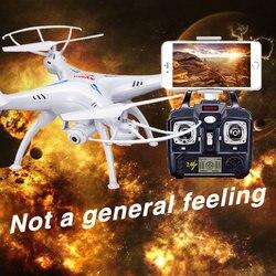 SYMA X5SW Радиоуправляемый Дрон Wi-Fi Камера Quadcopter реального времени передачи FPV headless режим Дрон вертолет Квадрокоптер дроны самолета дрон квадро...