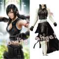 Final Fantasy VII Tifa Lockhart Uniform Cosplay Costume Dress Customized Size Free Shipping