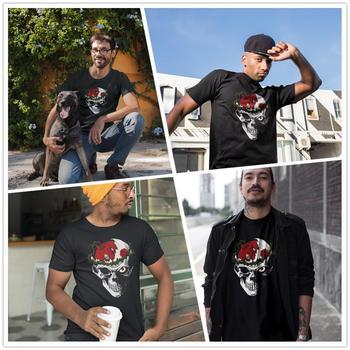 Skull T Shirt Berserk T-Shirt Basic 100 Percent Cotton Tee Shirt 5x Funny Short Sleeve Print Male Tshirt 1