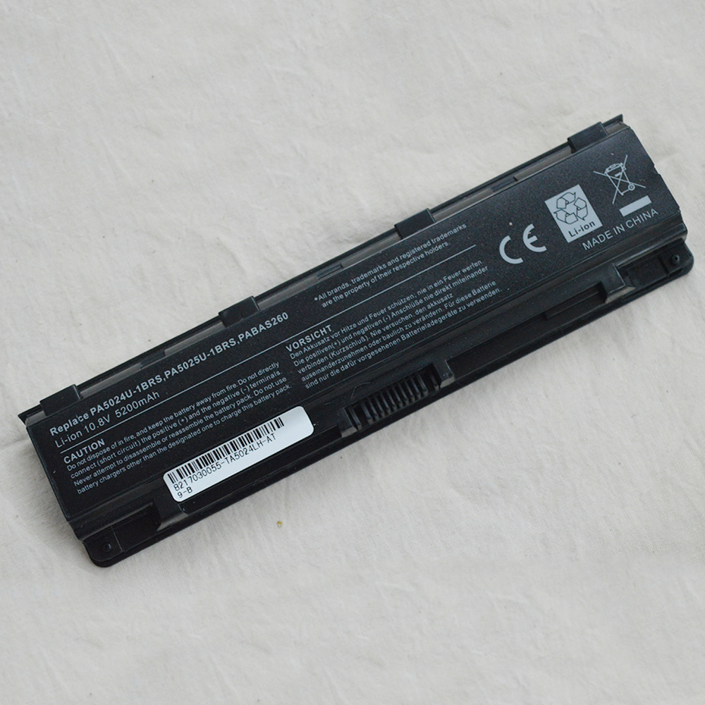 Laptop Battery for <font><b>Toshiba</b></font> <font><b>Satellite</b></font> <font><b>C55</b></font> C50 PA5109 L830 PA5024-1BRS S845 S845D S870 S870D L70 PA5024U-1BRS S850D L845 L850 image