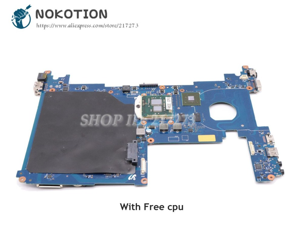 NOKOTION BA92-06814A BA92-06814B For Samsung Q230 Laptop Motherboard HM55 GT310M DDR3 Free cpu motherboard for samsung r530 r528 main board ba92 06346a ba92 06346b ba41 01227a pm45 ddr3 free cpu gt310m gpu