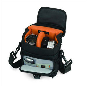 Image 5 - Lowepro Adventura 120 Digital SLR Camera Triangle Shoulder Bag  Rain Cover Portable Waist Case Holster For Canon Nikon