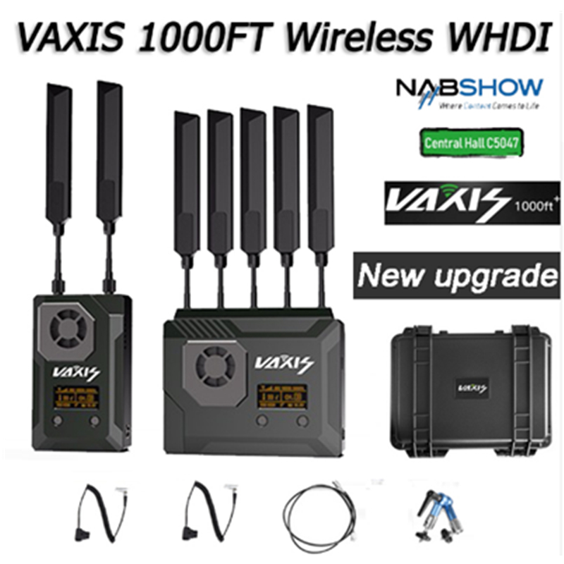 VAXIS STORM 1000FT Wireless Video Transmission System 3G SDI HDMI Broadcast FILM Transmitter Receiver for RED