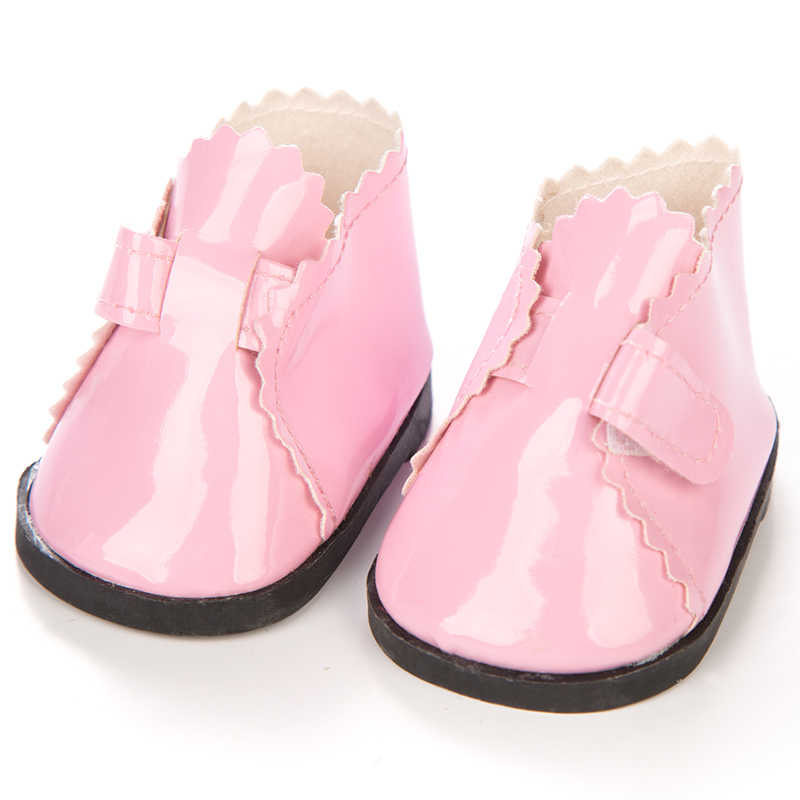 ... Doll Shoes Black and white Pink For 18 Inch Baby Born Doll Handmade  Sneakers Girl Clothes ... 598f1c2dc4a8