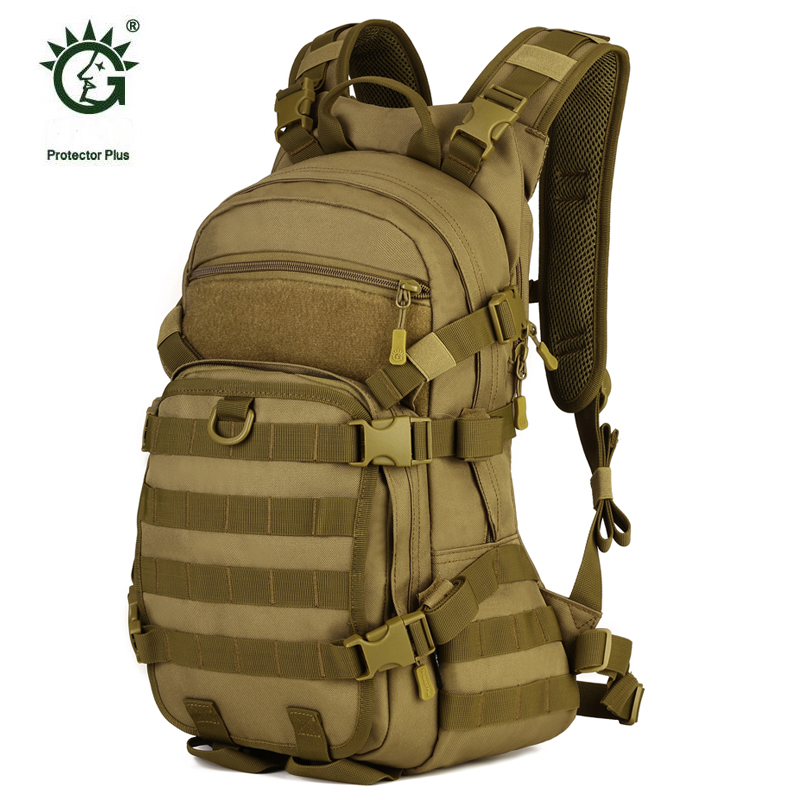 Protector Plus Rucksack 25L Military Tactical Molle Backpack Bag For Bicycle Sports Travel Cycling Hiking Camping Backpacks Bag new arrival 38l military tactical backpack 500d molle rucksacks outdoor sport camping trekking bag backpacks cl5 0070
