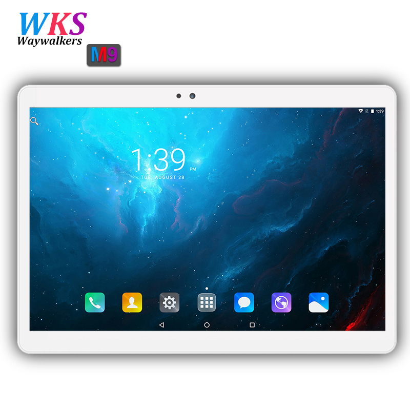 Global 3G/4G Tablet pc 10 inch Octa Core 4GB RAM 64GB ROM 1920*1200 IPS Android 7.0 Bluetooth GPS Tablets 10 10.1 free Shipping 2017 new android 7 0 original 10 core 10 1 inch 3g 4g lte tablet pc 1920 1200 ips hd 8 0mp 4gb ram 64gb rom bluetooth gps