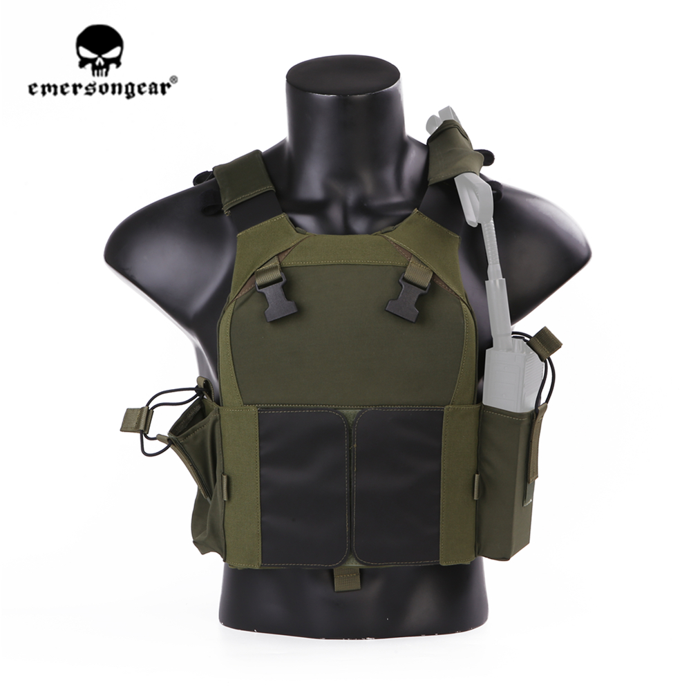 emersongear Emerson LV MBAV PC Tactical Vest Plate Carrier Lightweight CS Wargame Military Training Protective Gear Body Armor