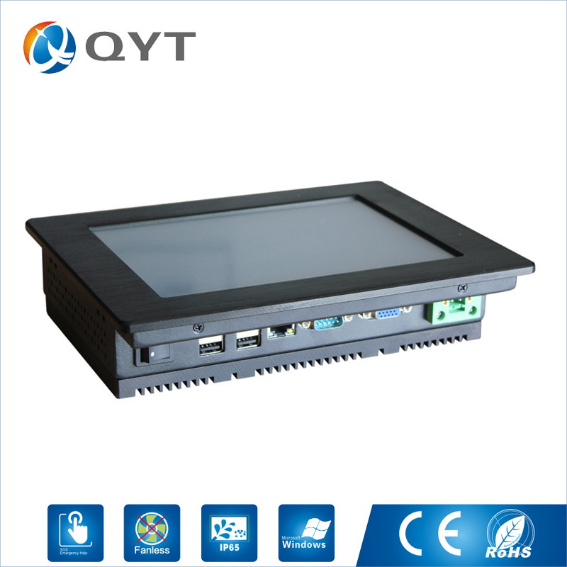 All in one pc 8 inch LED touch screen Resolution 800x600 mini computer pc Atom N2800 1.86GHz 4GB DDR3 32G SSD