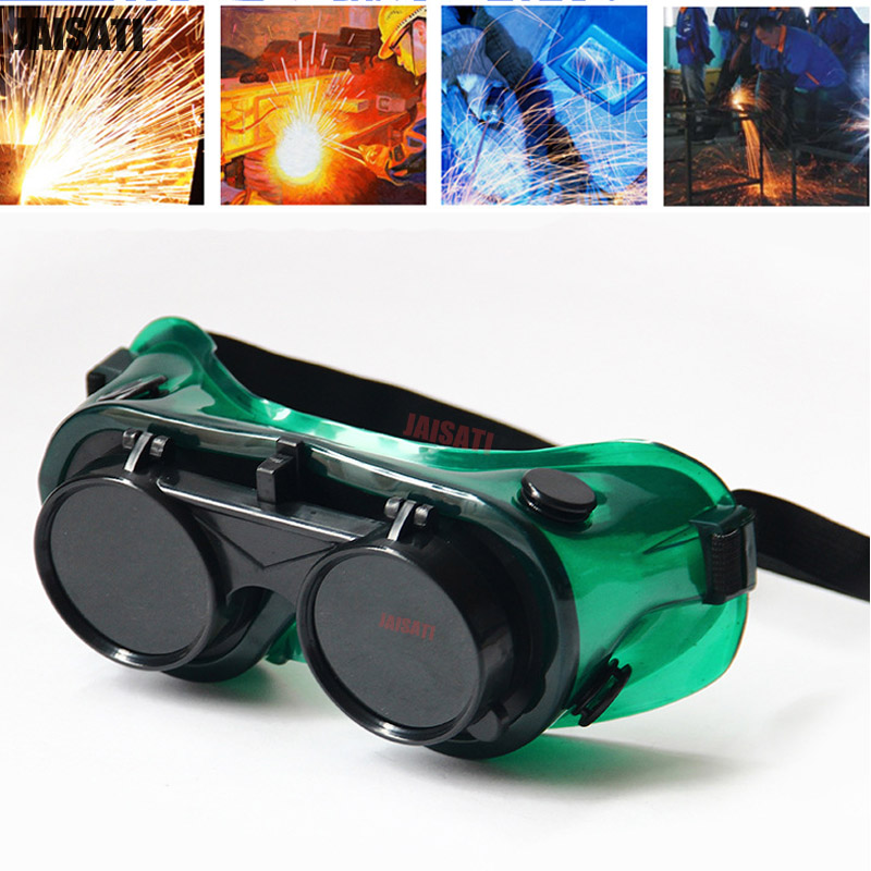 Welding gas welding goggles welders protection sunglasses anti - shock labor insurance double - turn welding glasses mig mag burner gas burner gas linternas wp 17 sr 17 tig welding torch complete 17feet 5meter soldering iron air cooled 150amp