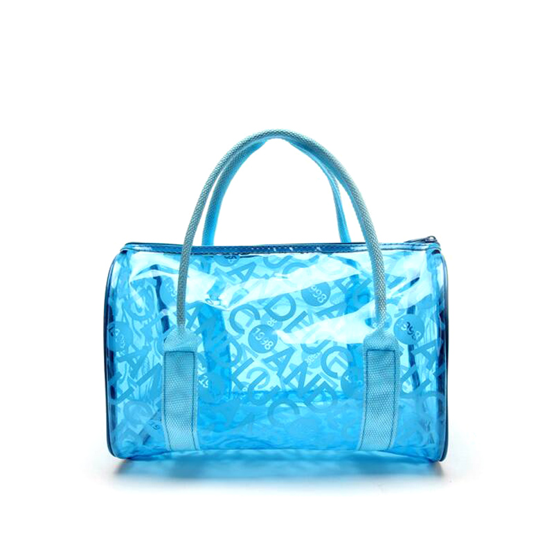 Aliexpress.com : Buy Jelly Blue Waterproof Handbags Transparent ...
