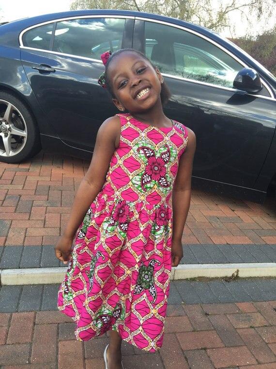 2017 Afrikanischen Kleid Afrikanischen Kleidung Kleid Baumwolle Echte Herbst/winter Neue Heiße Art Kinder In Afrika Die Nationalen Druck