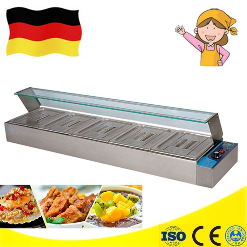 Brand New Electric Bain Marie Buffet Food Warmer Container For Catering Food Warming Tray Hot Soup
