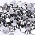 Silver Hematite 3D Nail Art ss3 ss4 ss5 ss6 ss8 ss10 ss12 ss16 ss20 ss30 ss34 Glass/Crystal Nails Non HotFix Rhinestones