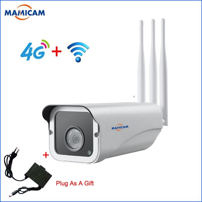 Caméra extérieure 3G 4G SIM 1080 P sans fil WIFI IP caméras de Surveillance CCTV moniteur de sécurité enregistrement vidéo