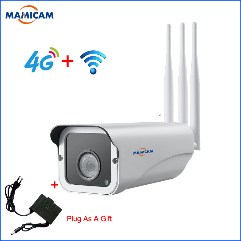 Outdoor 3G 4G SIM Camera 1080P Wireless WIFI IP Bullet Cameras CCTV Surveillance Security Monitor Video RecordOutdoor 3G 4G SIM Camera 1080P Wireless WIFI IP Bullet Cameras CCTV Surveillance Security Monitor Video Record