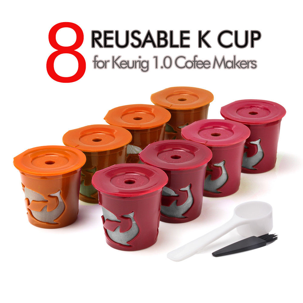 Business & Industrial 8pcs Reusable Coffee Filters K-Cup Capsule ...