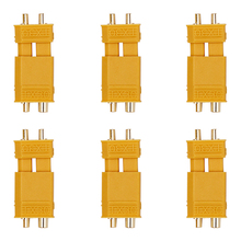 100 pairs XT30 Male Female Bullet Connector Plug Gold Plated Banana For RC Quadcopter Li on