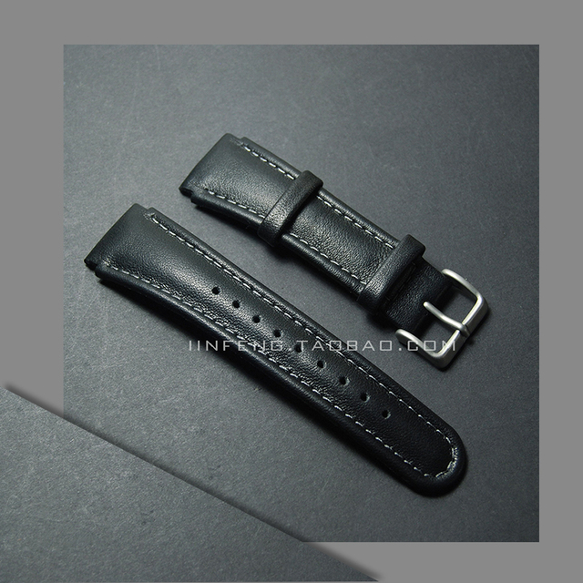 Genuine Leather Watchband Replacement For Suunto X Lander Seiko Watch Strap Accessories