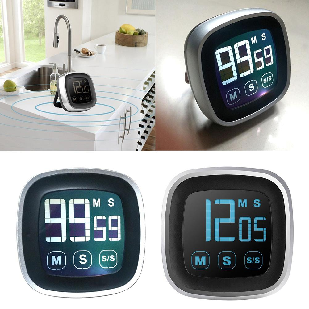 Large LED Display Kitchen Timer Electronic Touch Screen ...