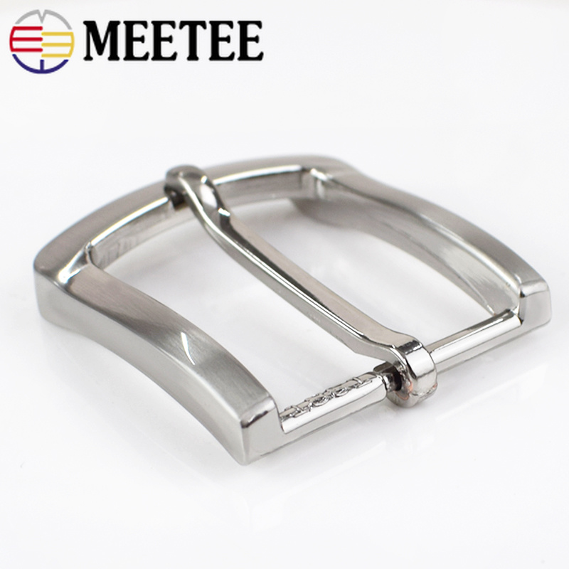 2Pcs Belt Buckles For Men Fashion Metal Pin Buckles For Belt 33 34mm Waistband Belt Head DIY Leather Craft Accessories in Buckles Hooks from Home Garden