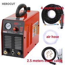 HeroCut 220 В плазменный резак IGBT машина для плазменной резки Cut45 220 в 10 мм чистая резка отлично режет всю сталь