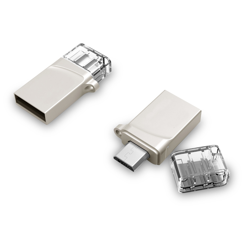 Новы 8GB 16GB 32GB 64GB 128GB смартфон Tablet PC USB Flash Drive Pendrive OTG USB-назапашвальнік Micro Memory Stick 512GB Disk Key
