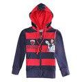 Мода неф СИНИЙ красный мальчики толстовки одежда детская толстовки куртка детская одежда новый год спортивные костюмы baby дети одежда из хлопка