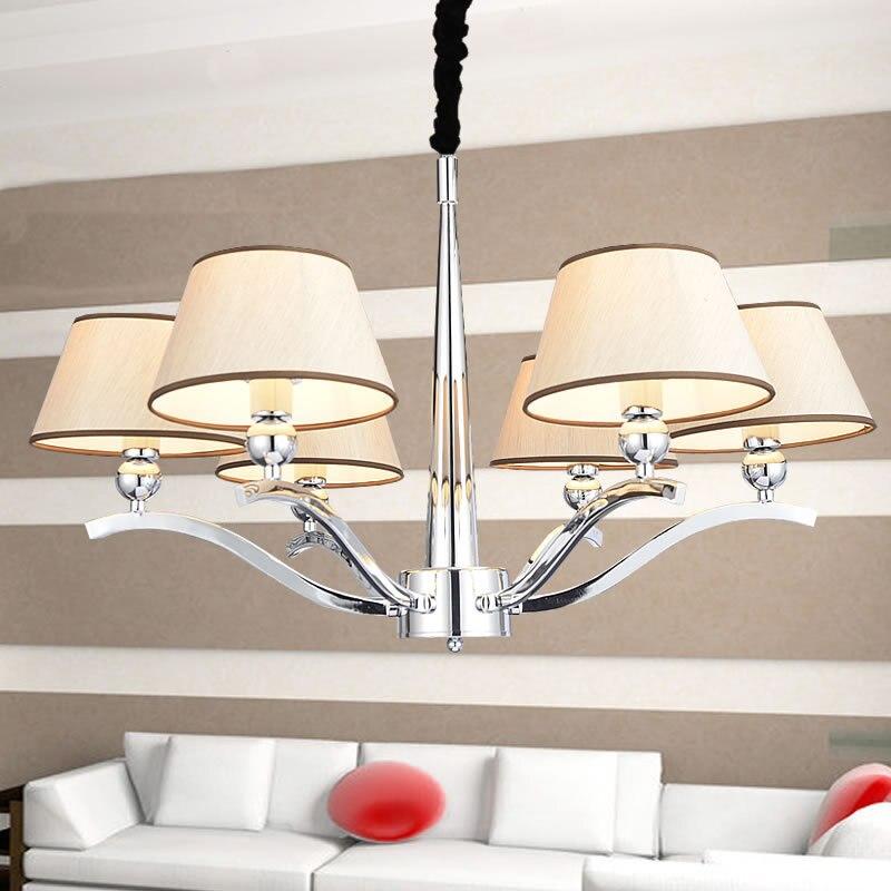Multiples Lustre en cristal Chambre Restaurant Fer Lumières hôtel projet d'éclairage en gros creative personnalité ZX157