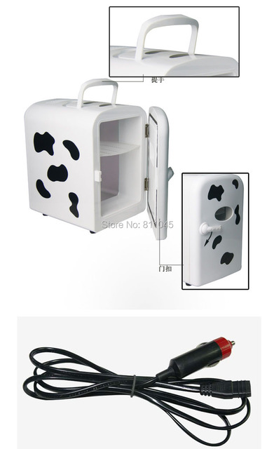 New Arrival 4L Portable Mini 12V Car Refrigerator Factory Direct Electronics  dual cows Cool Or Warm Travel Outdoor