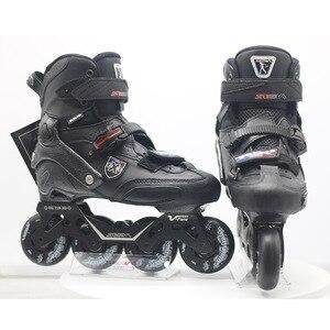 Image 3 - 100% Original 2019 SEBA Trix2 Erwachsene Inline Skates Roller Skating Schuhe Rockered Rahmen Slalom Schiebe FSK Patines Adulto