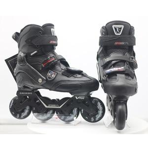 Image 3 - 100% оригинальные роликовые коньки для взрослых SEBA Trix2, роликовые коньки, кроссовки с рокерной рамой, скольжение, сладкие FSK патины, взрослые