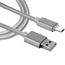 3FT Aluminium Nylon Micro USB Charger Cable voor Teclast X80 Plus, Tbook 11, X98 Plus, X10, x16 PLUS, P70 Data Sync Oplaadkabel(China)