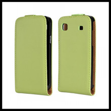 For Samsung Galaxy S i9000 / Galaxy S Plus i9001 Genuine Leather Case Cover with Stand Function + free shipping
