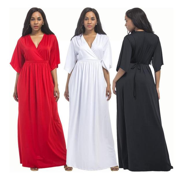 d75a529285d4 2018 Hot Sale Women Pregnants Sexy Photography Props Dress V-Neck Dress  Photo Shoot Props