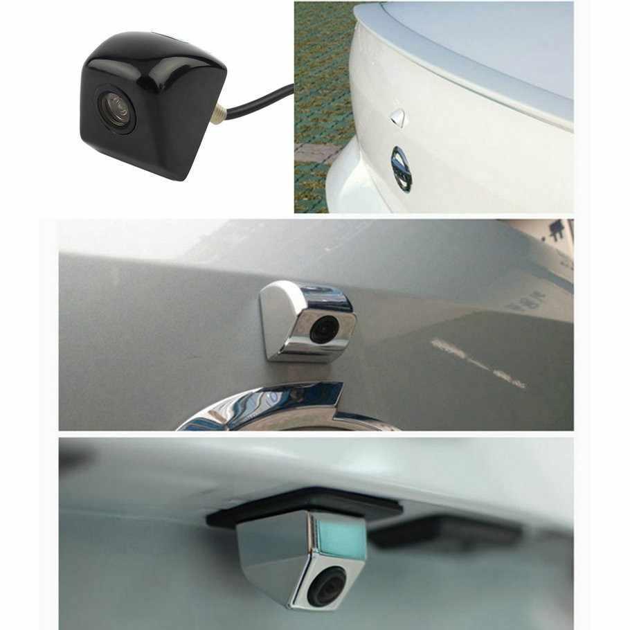2019 nowa tylna kamera samochodowa metalowa obudowa kamera cofania Parking Monitor wodoodporna Mini Parking kamera cofania led