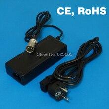 Cargador de batería de iones de litio de 48V y 2A para bicicleta eléctrica, cargador de batería de litio de 2a y 48V, salida de carga de 54,6 v y 2A