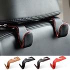 For Mercedes Benz CLA C117 ML SLK GLK E350 W212 W205 W204 W203 W211 Seat Back Bag Hook Hanger Leather Headrest Mount Clip