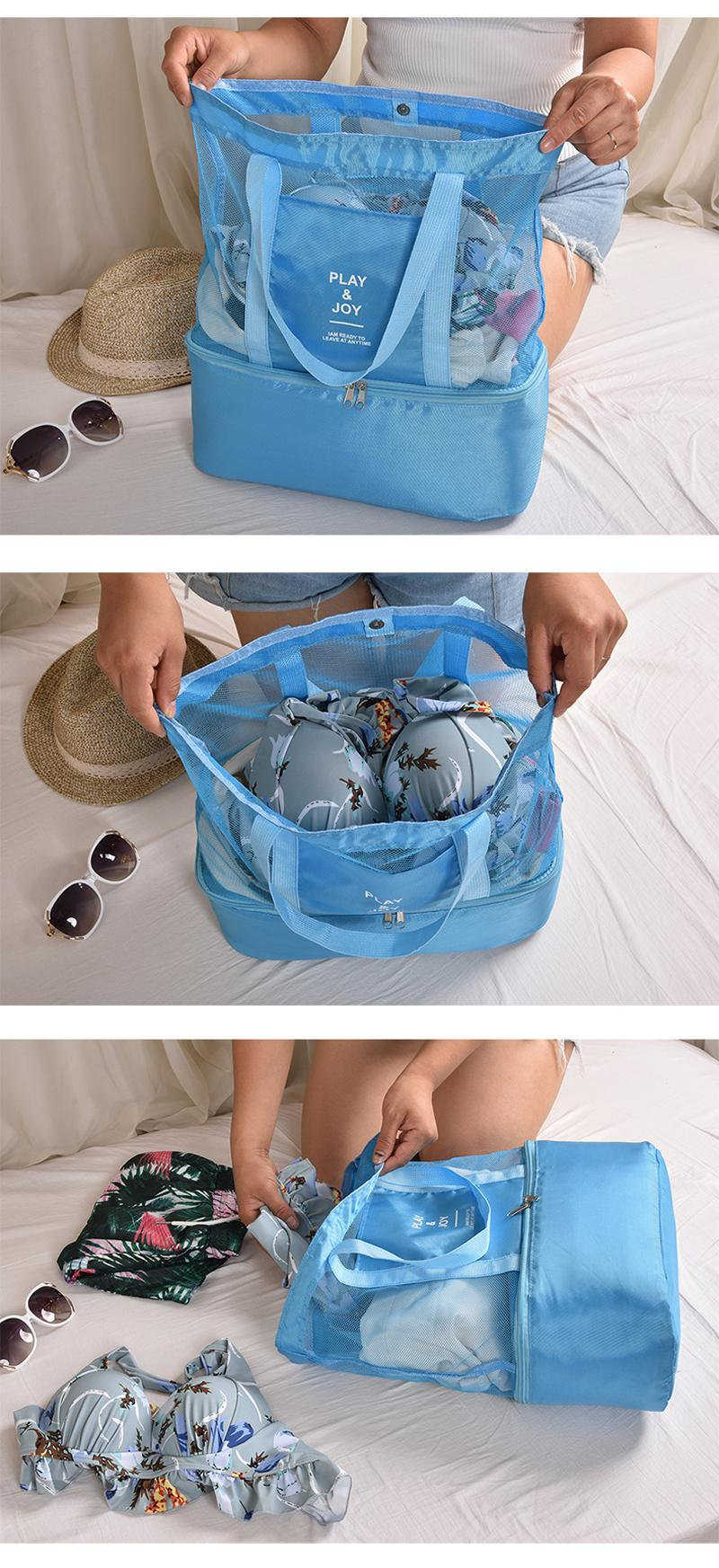 térmico net bolsa feminina saco de isolamento