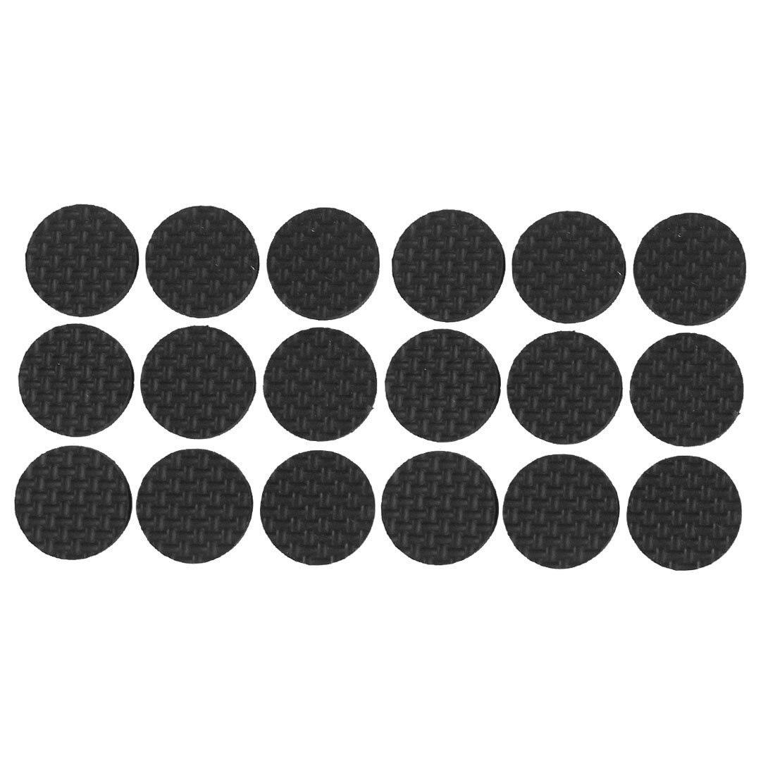 18 Pcs Self Adhesive Black Foam Table Chair Leg Pad Protector18 Pcs Self Adhesive Black Foam Table Chair Leg Pad Protector