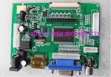 Écran lcd TTL LVDS Carte Contrôleur HDMI VGA 2AV 50PIN 800*480 pour AT090TN10 AT070TN90 92 94 Soutien Automatiquement VSTY2662-V1