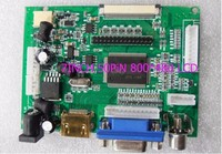 LCD Display TTL LVDS Controller Board HDMI VGA 2AV 50PIN 800 480 For AT090TN10 AT070TN90 92