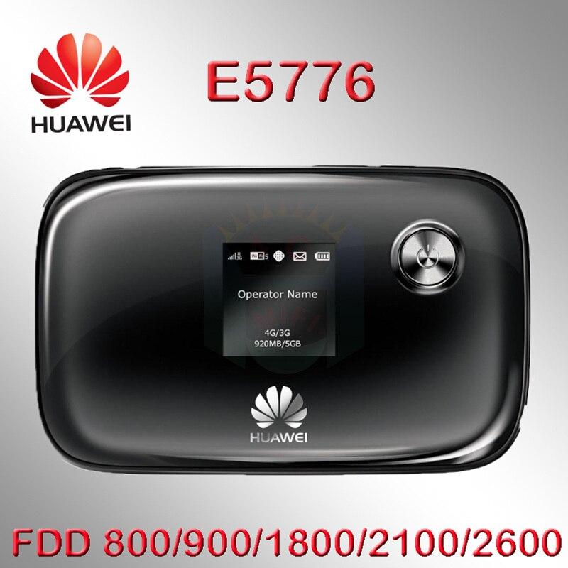 Ancien/utilisé débloqué Huawei E5776S-32 pas cher 150 Mbps 4G LTE MiFi routeur sans fil Hotspot WiFi Mobile