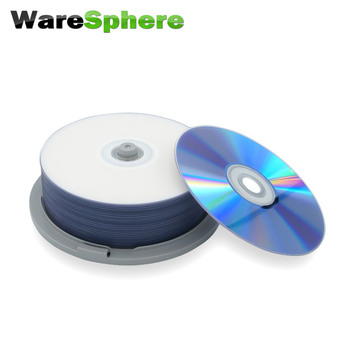 FREE SHIPPING Grade A BD-R SL 25GB 1x-10x Speed Inkjet Printable Blu-ray Disc – 25 Spindle