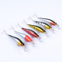 8.5cm 9g Striped Wobblers Isca Artificial Fishing Baits Artificial Minnow Fishing Lure Pesca With 2 Treble Hook For Sea Lake hengjia 9g 9cm spinner lure fishing lures artificial baits metal bionic fish hook isca artificial fishing tackle rotate sequins