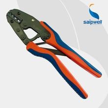 Que prensa de la mano DR-1035GF para aislado y no aislado crimp cable de 10,16, 25,35 mm / 8-12 AWG crimp terminal herramienta