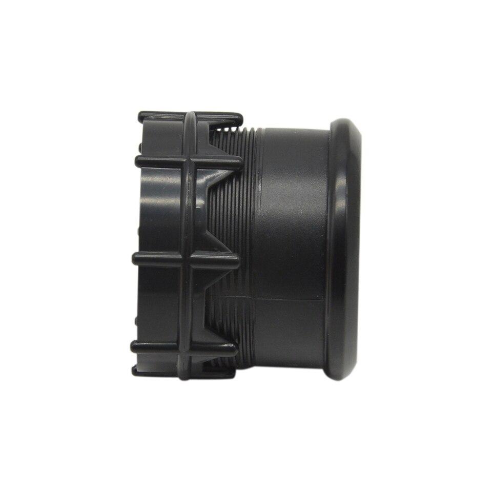 Дракон Калибр 52 мм черный корпус синий светодиодный подсветка авто мотоцикл 12 В измеритель напряжения вольт Калибр диапазон измерения 8-18 в