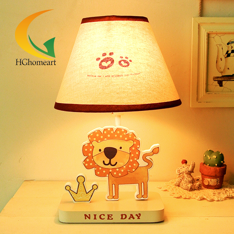 ФОТО Creative children cartoon table lamp desk lamp lion giraffe fashion warmly decorated gift for kids