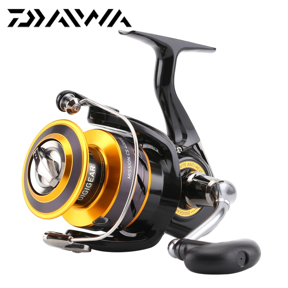 2017 original daiwa mission cs 2000s 2500s 3000s 4000s for Daiwa fishing reels