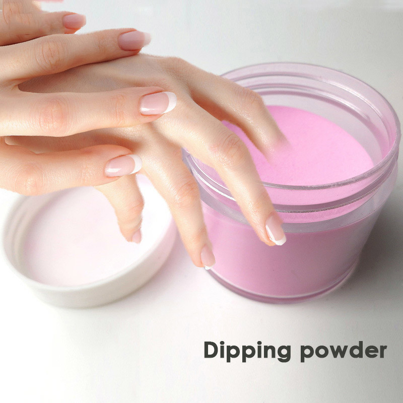Dip Powders 10g /Box 8Color Dipping Powder Without Lamp Cure Nails Gel Nail Color Natural Dry Colors #1-#8